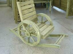 Деревянная мебель для дачи и сада