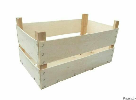 Деревянная тара, Шпоновый ящик, Евро ящик, Тара