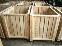 Деревянный контейнер для овощехранилищ !