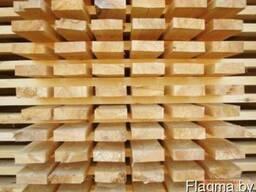 Деревянный штакетник на забор строганный