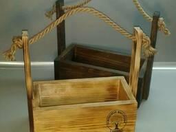 Деревянный ящик бокс Сувенир Подарок