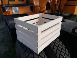 Деревянный ящик для овощей и фруктов