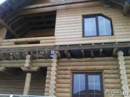 Деревянные дома, беседки из сруба