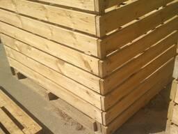 Деревянные контейнеры, ящики.