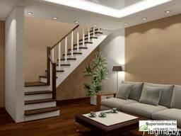 Готовые лестницы из сосны К-002м
