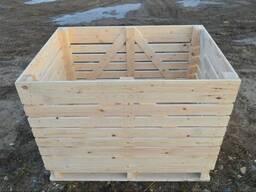 Деревянные ящики (контейнеры) под овощи, фрукты