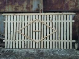 Деревянные заборы с доставкой - фото 2