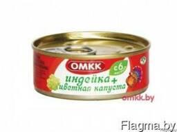 Детские мясные консервы Оршанского мясокомбината