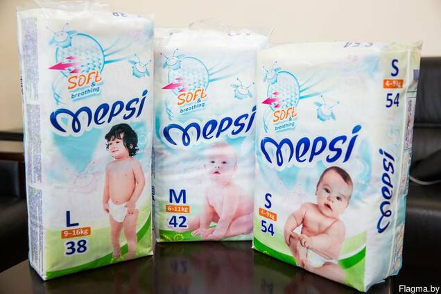 Детские подгузники MEPSI