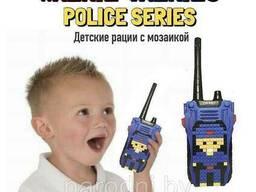 Детские рации с мозаикой Walkie Talkies Police Series