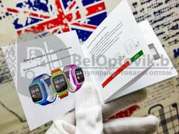 Детские умные часы Smart BABY Watch Q80 Wonlex (G72Wifi) Антистресс пупырка Pop It Белые