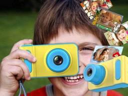 Детский цифровой фотоаппарат Kids Camera Summer Vacation