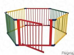 Детский игровой манеж-ограждение(цветной)