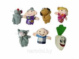Детский пальчиковый кукольный театр «Репка»