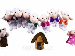 Детский пальчиковый кукольный театр «Волк и семеро козлят»