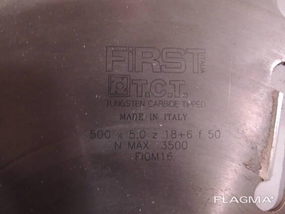 Диски пильные First 500x5.0z 18 6 f50 (12 штук)