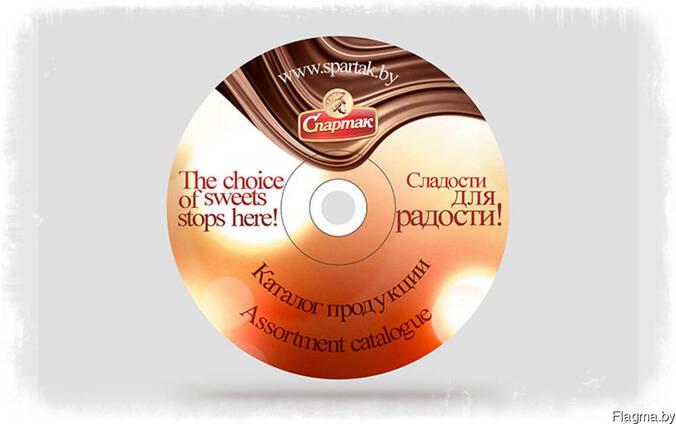 Дизайн на диски и обложки к ним.