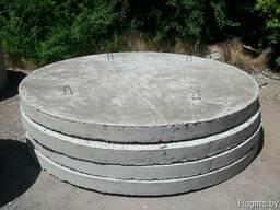 Дно канализационных колодцев 1 м