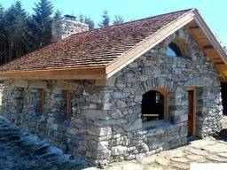 Дома бани из камня
