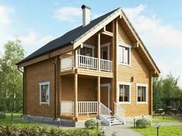 Дома из бруса, каркасные дома, дачные дома, бани, беседки...