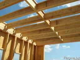 Домокомплекты каркасные, деревянные двутавровые балки - фото 2