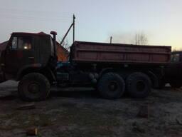Доставка грузов КАМАЗ 4310 самосвал.