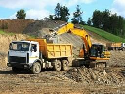 Доставка песка самосвалами 10 и 20 тонн -Оперативно. Скидки!