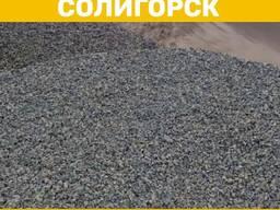 Доставка щебня самосвалами в Солигорском и Слуцком районах.