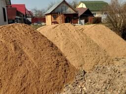 Песок ПГС гравий щебень камень грунт торф с доставкой