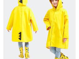 Дождевик «Дракон» желтый