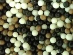 Драже зерновое, взорванные зёрна риса в глазури