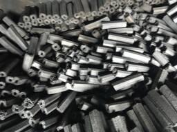 Древесный уголь для каминов и BBQ из (PINI KAY брикета) FSC 100%