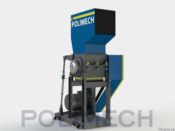 Дробилка SLF-1400 моющая. Производительность до 600 кг/ч. Ко