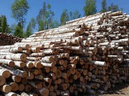 Лес кругляк на дрова (лиственные породы)