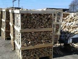 Дрова - дрова колотые: дуб 1 RM, клён 2. RM, берёза 2 RM 25