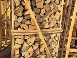 Дрова колотые дуб камерная сушка - фото 3