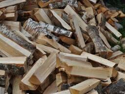 Дрова колотые лиственных пород