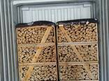 Дрова колотые лиственных пород - фото 3