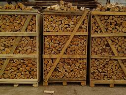Дрова колотые в ящиках 1. 0RM, 1. 08RM, 1. 24RM и 2RM,