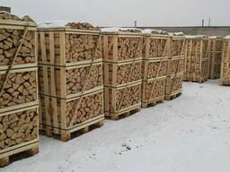 Дрова на экспорт из ольхи, березы, ясеня, дуба, граба