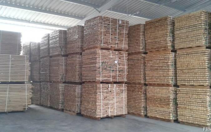 Дубовые обрезные заготовки (ЧМЗ) свежего распила 1-3 сорта