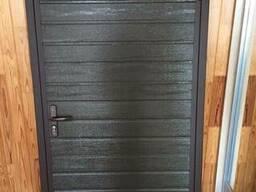 Дверь металлическая оцинкованная
