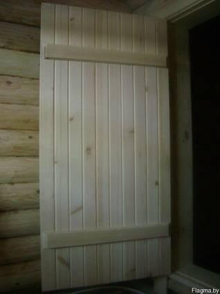 Двери для бани деревянные.