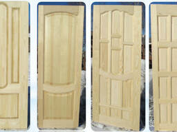 Двери из массива под размер заказчика