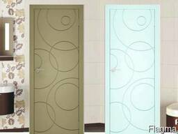 Двери межкомнатные в глянцевой эмали пр-во Италия