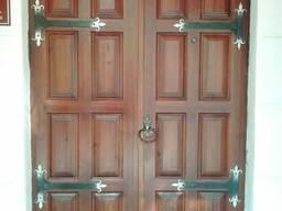 Двери Спасские, входные деревянные. - фото 5
