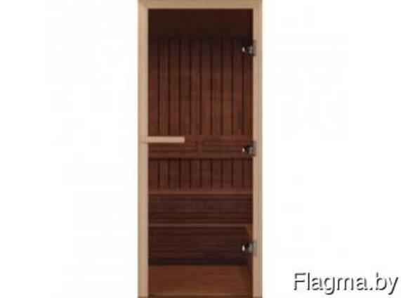 Входные двери в баню DoorWood с закаленным стеклом
