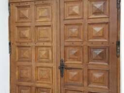 Двери входные из массива