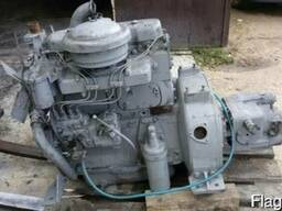 Двигатель для автобетоносмесителя