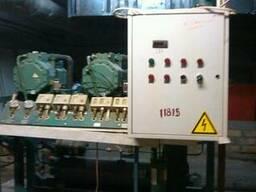 Двухкомпрессорная холодильная установка на базе bitzer